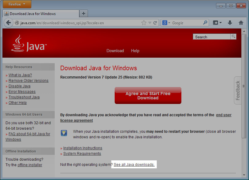 Why is java not found on the command line after I've installed it? |